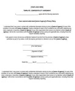 nda template word free non disclosure agreement form 10 free word pdf