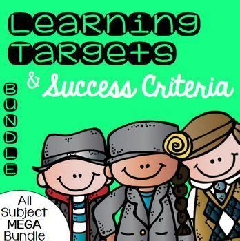 printable common core learning targets 25 best ideas about daily objectives on pinterest