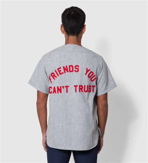 Fuct Tshirt Grey fuct fuct x ebbets grey field flannel jersey shirt hbx