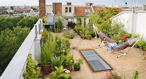 design  rooftop garden real homes