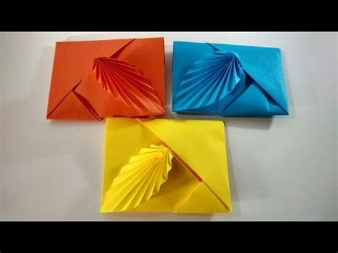 How To Make A Paper Envelope Without Glue - como hacer un sobre 2017 frases y pensamientos