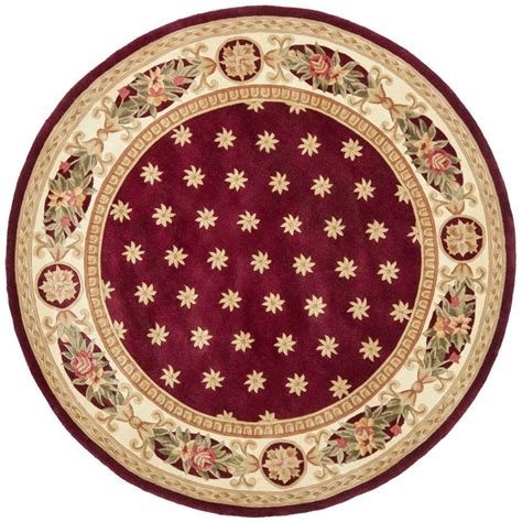 Safavieh Naples Assorted 4 Ft X 4 Ft Round Area Rug 4 Foot Area Rugs