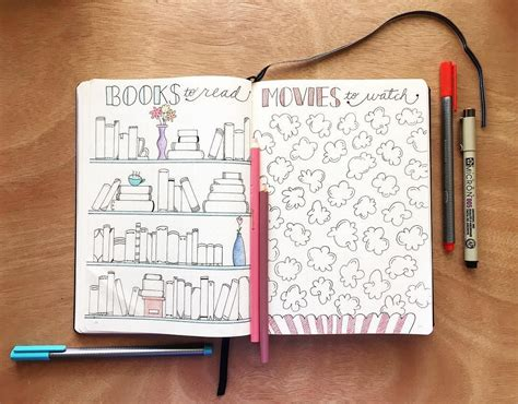 bullet journal book keep track of books to read in your bullet journal