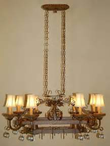 French Country Chandeliers Kitchen Country French Style Pot Rack Chandelier Traditional