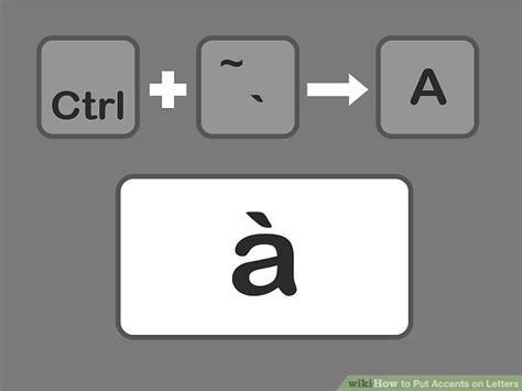 Letter Accents 6 easy ways to put accents on letters wikihow