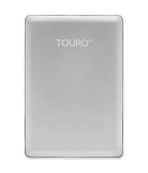 Harddisk Touro 500gb 500gb external harddisk touro s 7200 rpm silver color wd product buy rs