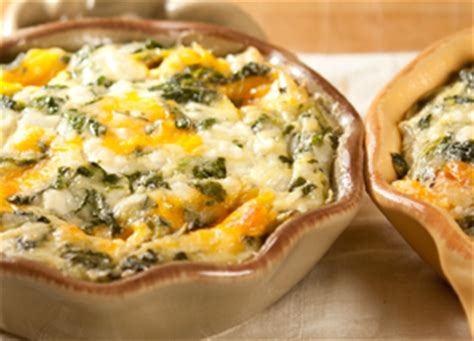 Crustless Quiche With Cottage Cheese by Egg Spinach And Two Cheese Crustless Quiche Recipe Dishmaps