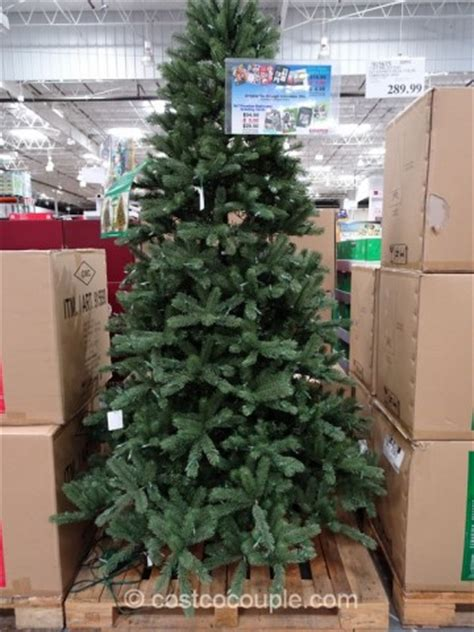 costco christmas trees live ez connect 7 5 ft pre lit led tree