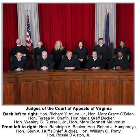 Virginia Search Judiciary Virginia State Court Of Appeals Images