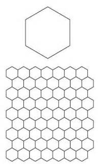 Hexagon Templates For Paper Piecing by Paper Piecing Hexagons Pattern From