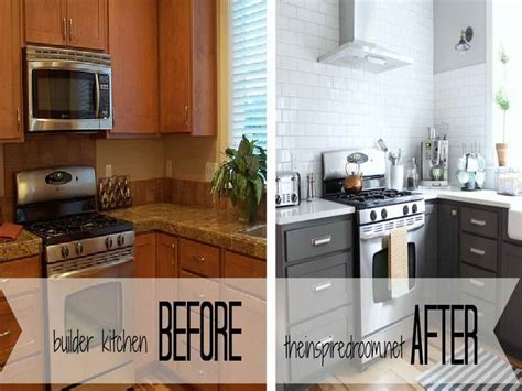 Kitchen Cabinet Painting Before And After Painted Kitchen Cabinets Before And After