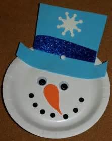 Paper Snowman Crafts - preschool paper crafts preschool crafts for
