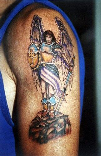 sword in the stone tattoo designs warrior with sword and shield on colored