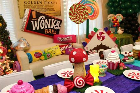willy wonka themed decorations willy wonka s candyland themed with so