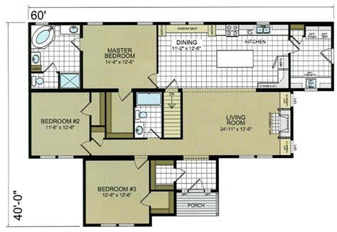 modular floor plans ranch t ranch modular home mobile home ridgecrest