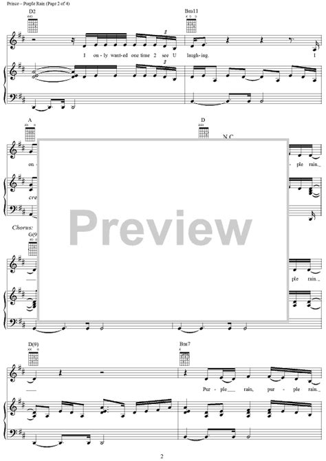 piano tutorial purple rain purple rain sheet music music for piano and more