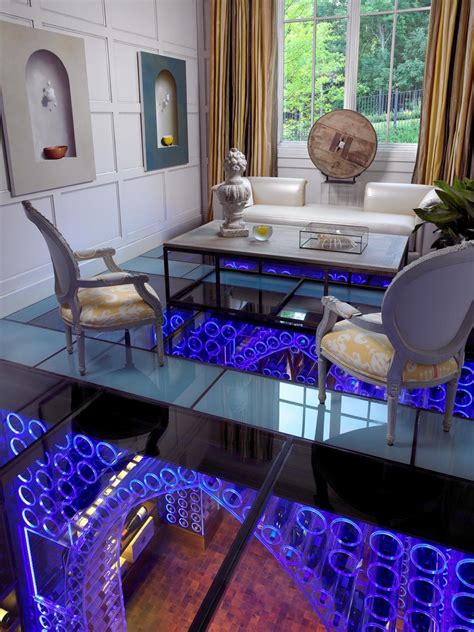 the glass room wine storage at home