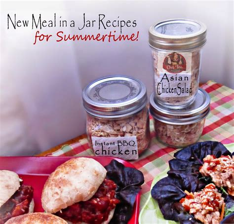 meals in a jar meals in a jar summertime recipes with chef tess in the