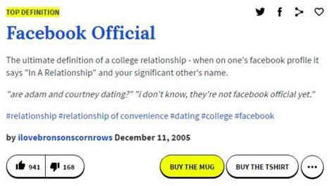 Define Meme Urban Dictionary - urban dictionary definition facebook official know