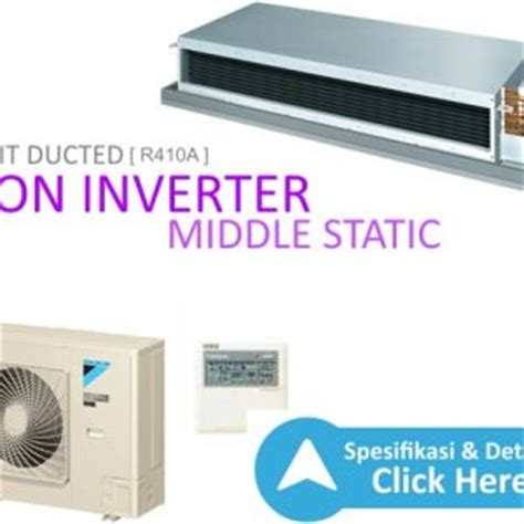 Ac Daikin Non Inverter ac split ducted non inverter r410a middle static dealer