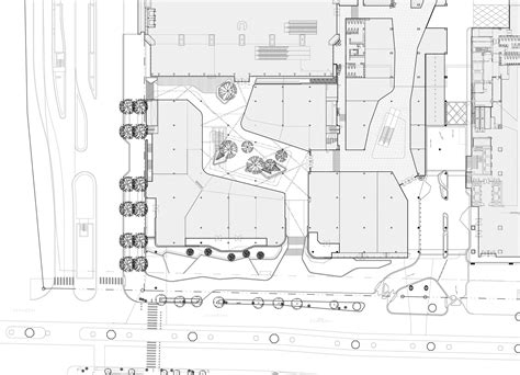 1st Floor House Plan groove central world t r o p a49 sda fos archdaily