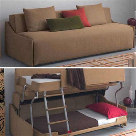 couch folds into bunk bed fold out beds tinyhousejoy