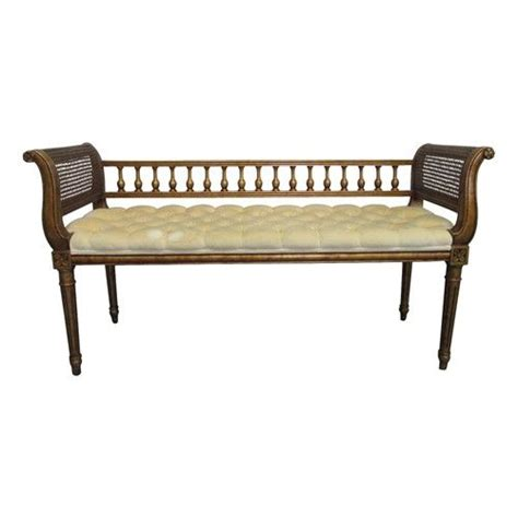 love seat bench mid century directoire love seat bench furniture pinterest