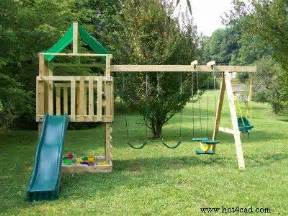 diy swing boys and play sets on