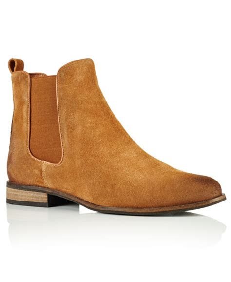 millie suede chelsea boots womens boots