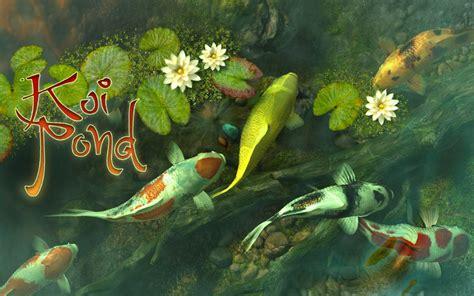 koi fish live wallpaper for mac koi pond live wallpaper desktop wallpapersafari
