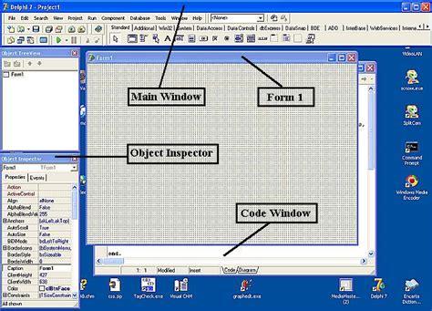 tutorial delphi 7 programming basic delphi page 01