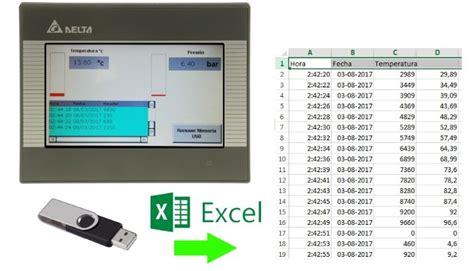 sistemas de monitoreo y registro de variable en excel