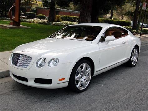 white 2007 bentley continental gt car photo pictures of bentleys