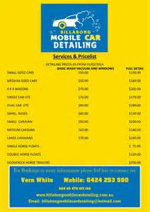mobile auto detailing quotes