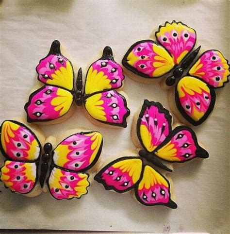 25 best ideas about butterfly cookies on