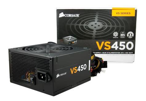 Psu Corsair Vs450 450 Watt Power Supply corsair vs series vs450 450w power supply 80 white