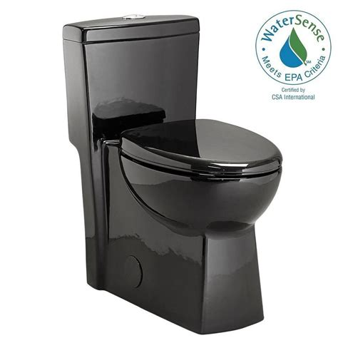 black toilet schon 1 1 28 gpf dual flush elongated toilet in