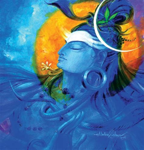 abstract wallpaper of shiva abstract hindu god painting www imgkid com the image