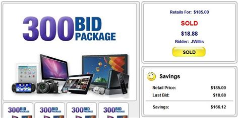 bid auction websites happybidday cheap bids trick