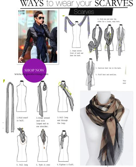 accessories trend how to wear a scarf