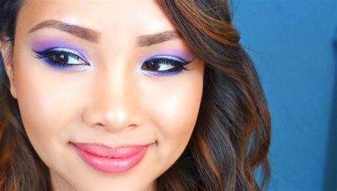 makeup tutorial tagalog how to purple smokey eye makeup tutorial filipino youtube