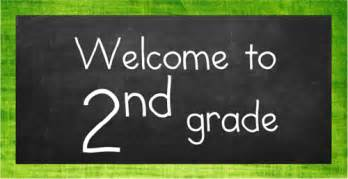 2nd grade welcome