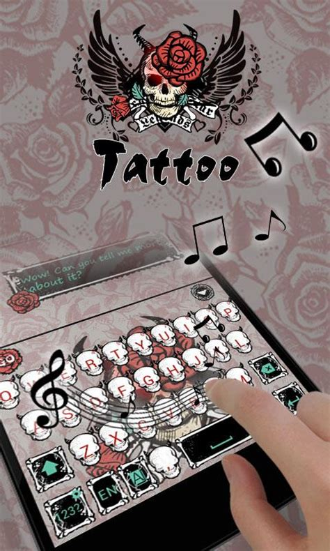 go keyboard themes tribal tattoo go keyboard theme android apps on google play