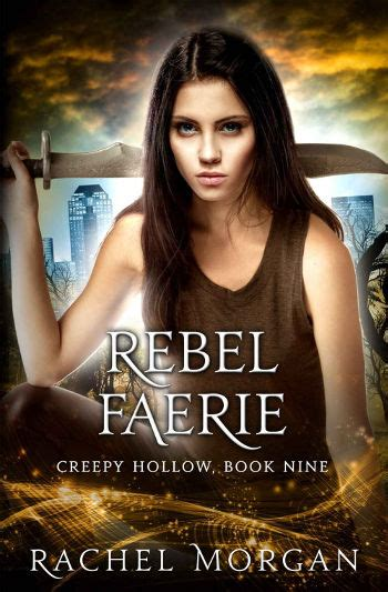 book review rebel faerie creepy hollow book 9 by