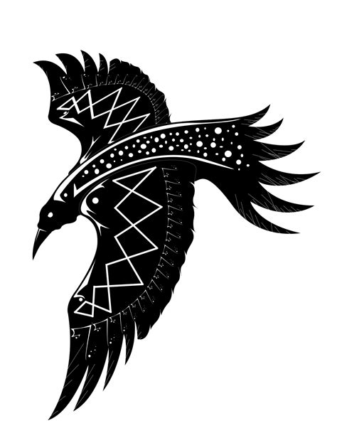 vector raven by etybyte on deviantart