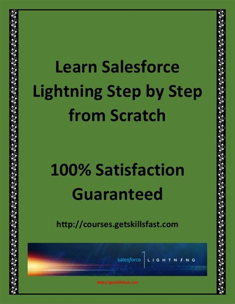 learn salesforce lightning the visual guide to the lightning ui books learn salesforce admin programming and integration step