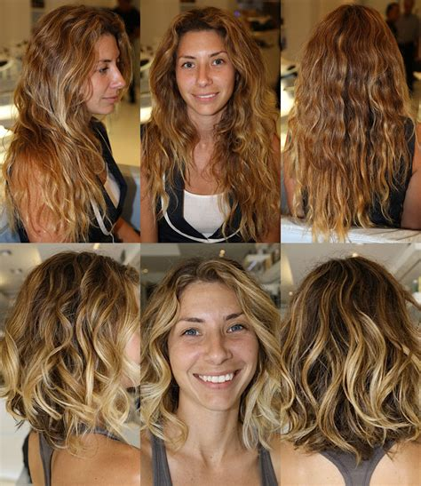 curly haircuts before and after before and after beautiful curly beachy hair ramirez