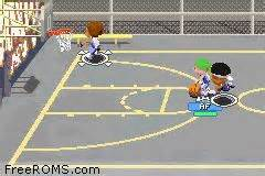 backyard basketball gba gameboy advance backyard basketball rom
