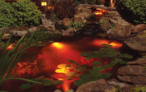 Pond Lighting by Pond Lighting