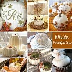 bridal showers white pumpkins and shower ideas on